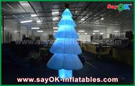 Chine arbre de Noël léger gonflable d'éclairage de la décoration LED de 3m avec le matériel en nylon usine