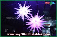 Chine Décorations gonflables d'éclairage de ballon d'étoile du géant 1.5m LED pour le bar/barre usine