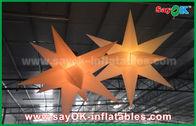 Chine Décorations gonflables extérieures de publicité en nylon de ballon d'étoile de LED avec le ventilateur de la CE/UL usine