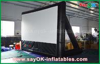 Chine matériel gonflable de PVC du cinéma 7mLx4mH avec le cadre pour la projection usine