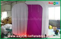 Chine Tente gonflable d'igloo de dôme pourpre de couleur, Photobooth gonflable 3mLx2mWx2.3mH usine