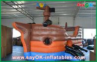 Chine Château gonflable de glissière de videur de grande de corsaire forme de bateau pour le jeu de sortes usine
