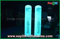 Chine Ballon gonflable imprimé de forme de cône de pilier de décoration d'éclairage pour la décoration d'état usine