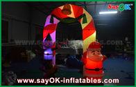 Chine Voûte gonflable de décoration de Noël de voûte de tissu de Mylon avec la lumière de LED usine