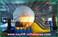 Chine Glisseur gonflable de rebond de forme extérieure d'avion avec le ventilateur de la CE/UL pour le jeu usine