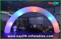 Chine porte en nylon de manière de voûte d'éclairage d'Inflatble de tissu de diamètre de 63cm pour la décoration usine