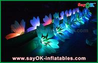 Chine Chaîne de fleur gonflable de mariage de grande décoration gonflable d'éclairage avec la lumière de LED pour la décoration usine