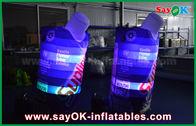 Chine le logo de 2m a imprimé la qualité marchande gonflable de tissu d'Oxford de bouteille de boissons de conducteur de bébé usine