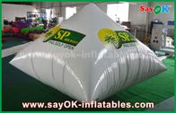 Chine Impression gonflable de logo de pyramide de PVC du blanc 0.6mm annonçant Inflatables usine
