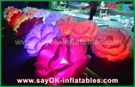 Chine Chaîne de fleurs gonflable gonflable romantique de la décoration d'éclairage/LED Rose pour épouser usine