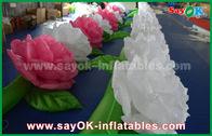 Chine Colorez la chaîne de fleur gonflable du changement LED pour épouser la décoration usine