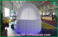 Chine Tente gonflable de barre de bar de tissu d'Oxford de tente d'air de diamètre du blanc 3m avec la lumière de LED usine