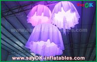 Chine 1m - méduses gonflables matérielles en nylon de changement de couleur de diamètre de 2m avec le ventilateur de la CE/UL usine