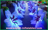 Chine Décoration gonflable de chaîne de fleur/décoration légère gonflable étape de mariage usine