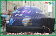 Chine Tente gonflable de dôme de plein planétarium mobile imperméable d'impression avec l'étoile usine