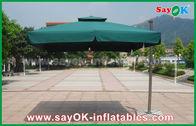 Chine vente entière extérieure promotionnelle de parapluie de plage de jardin du polyester 190T usine