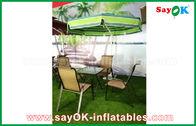 Chine Échouez le matériel en porte-à-faux de nylon du parapluie 190T de patio de Sun de jardin extérieur usine