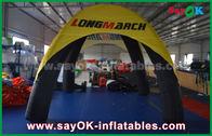 Chine Le logo a imprimé la tente gonflable de dôme d'araignée de tente d'air de 4 jambes avec le matériel de PVC usine