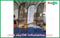 Chine Tente se pliante de drapeau gonflable portatif de souffleur pour la promotion/publicité usine