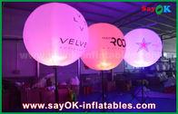 Chine décoration gonflable d'éclairage de ballon de support de 1.5m pour annoncer/promotion usine