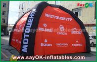 Chine Adapté aux besoins du client imprimant la tente gonflable d'air de logo pour la décoration de partie d'exposition usine