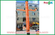 Chine Danseur gonflable rouge/orange/bleu d'air/danseur de ciel avec avec le ventilateur de la CE pour la publicité extérieure usine