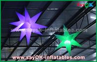 Chine 1.5m décoration gonflable d'éclairage de la publicité en nylon de 190 D, étoile gonflable avec la lumière menée usine