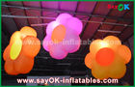 Chine Décoration gonflable d'éclairage de tissu d'Oxford/allumage de la fleur gonflable pour la barre de club, partie usine