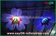 Chine Fleurs gonflables de allumage accrochantes colorées pour la décoration de festival usine