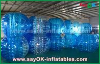 Chine Jeux gonflables durables de sports/boule gonflable transparente de bulle de PVC TPU usine
