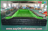 Chine Le football gonflable de bâche extérieure géante portative de PVC/court de tennis de table avec le ventilateur de la CE usine