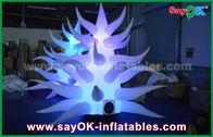 Chine fleur gonflable/arbre 190T Oxford de tissu coloré de 3mh pour la partie ou l'événement usine