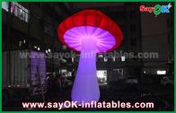 Chine Décoration gonflable pourpre jaune rouge géante d'éclairage/champignon gonflable usine