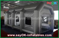 Chine Tente gonflable mobile d'air/cabine de jet gonflable avec le filtre pour la couverture de voiture usine