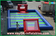 Chine Jeux gonflables de sports de bâche durable de PVC/football gonflable d'enfants usine