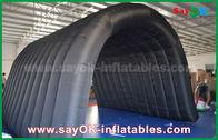 Chine Tente de camping gonflable de tunnel noir de 210D Oxford pour l'activité en plein air usine