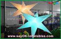 Chine Décoration gonflable durable d'éclairage, étoile gonflable avec la lumière menée usine