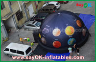 Chine 6m dôme gonflable portatif de planétarium de tissu de 210 D Oxford pour le cinéma avec la pleine impression usine