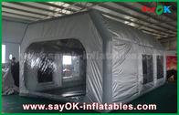 Chine Cabine gonflable imperméable grise de peinture de PVC de Prefessional et de tissu d'Oxford pour la peinture de voiture usine