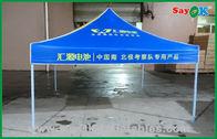 Chine impression d'écran de 3x3m annonçant la tente se pliante automatique de belvédère usine