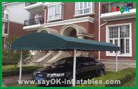 Chine Cadre résistant UV se pliant d'aluminium de tente de stationnement de voiture de tente d'auvent extérieur d'ombre usine