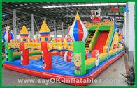 Chine Château gonflable d'amusement d'enfants, grand videur gonflable, château plein d'entrain géant usine