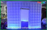 Chine Cabine gonflable de photo des noces d'argent LED avec le ventilateur L3*W2*H2.3M d'UL usine