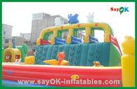 Chine Videur gonflable commercial de Ginat/glissière gonflable/combiné gonflable pour des enfants usine