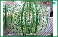Chine Boule gonflable durable géante adaptée aux besoins du client de Zorbing pour le jeu de boule de hamster 2.3x1.6m usine
