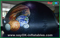Chine Tente portative gonflable de dôme de planétarium de tissu d'Oxford pour l'étude d'amusement d'enfants usine