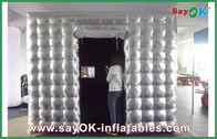 Chine Belle cabine carrée mobile gonflable de photo d'explosion de panneau de mur usine