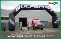 Chine Porte gonflable de la voûte 600D Oxford de la publicité d'événement gonflable fait sur commande de PVC pour la ligne d'arrivée usine