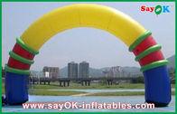 Chine Le PVC gonflable de voûte/porte d'événement extérieur a adapté les signes de publicité gonflables usine