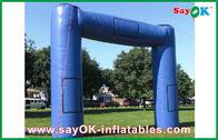 Chine Structure gonflable commerciale d'arcade de tissu gonflable énorme bleu d'Oxford usine